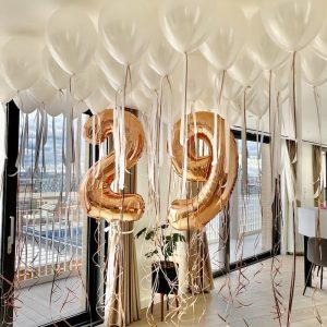 Balloonista Birthday Balloon Ceiling