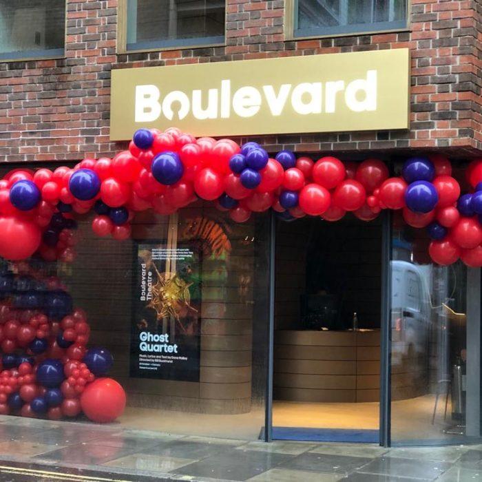 Boulevard, Soho luxury balloons