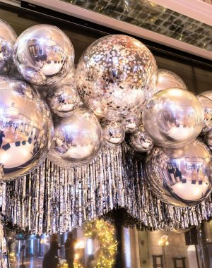 Silver Party Balloons