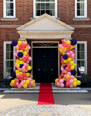 fiesta balloon display alfie bests house absolutely ascot