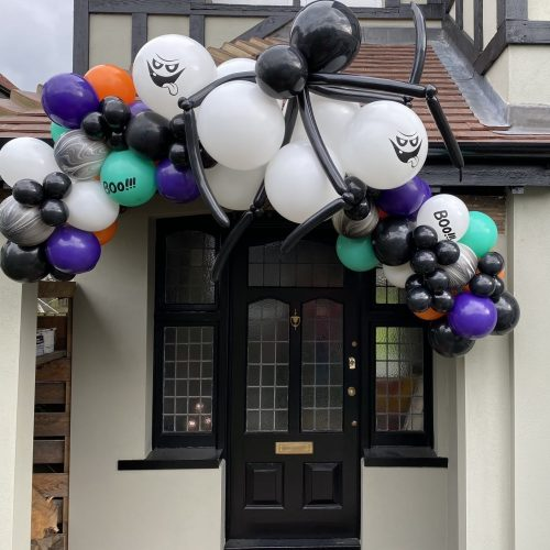 Halloween Single 2.4m Garland With Spider Balloonista