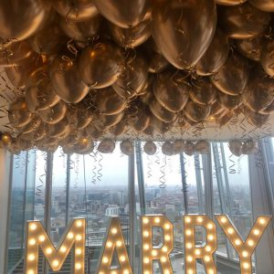 Proposal Balloons Marry Me