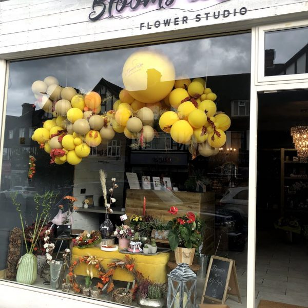 Shop Front Balloons Balloonista