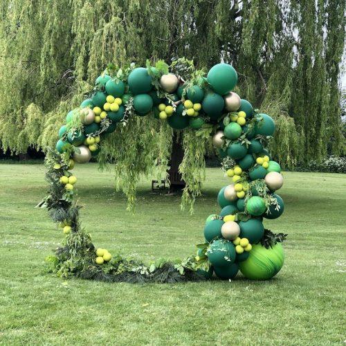 Spring Wedding Balloon Arch